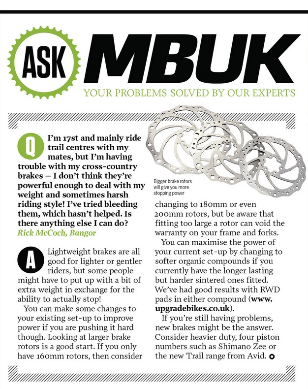 RWD featured in ASK section of MBUK
